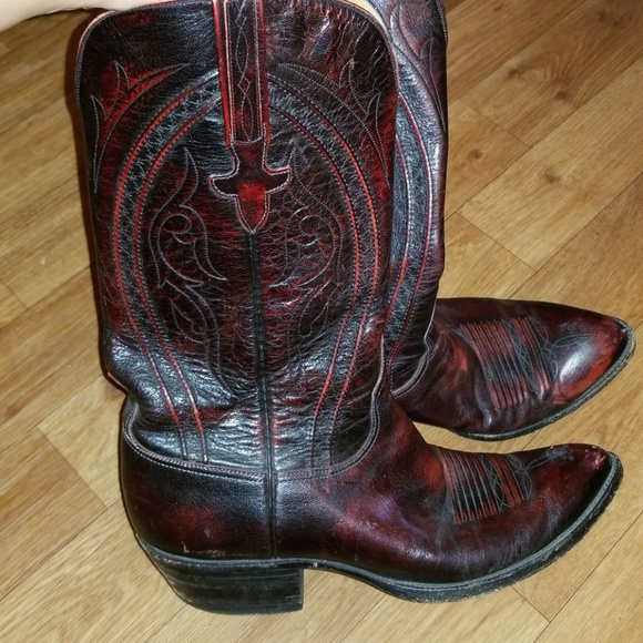 9823ffcfd7f038 Lucchese Other - Lucchese Kangaroo Leather Boots